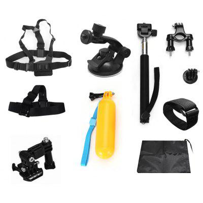 9 - in - 1 Accessory Kit for Universal Action Camera