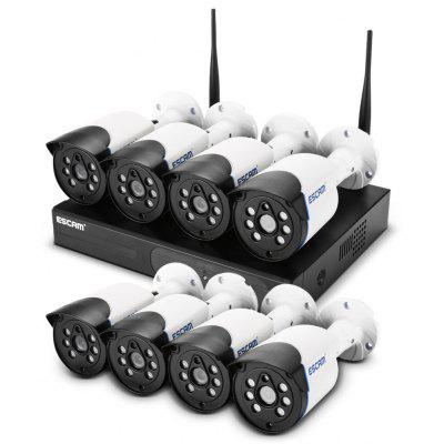 ESCAM WNK804 Wireless HD NVR Kit