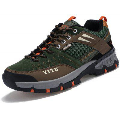 Newest Net Cloth Men Durable Hiking Shoes