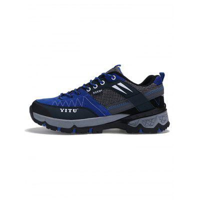 Men Comfortable Hiking ShoesAthletic Shoes<br>Men Comfortable Hiking Shoes<br><br>Features: Anti-slip, Breathable, Crashworthy, Durable, Shock-absorbing, Sweat-absorbing<br>Highlights: Sweat Absorbing, Breathable<br>Package Contents: 1 x Pair of Hiking Shoes<br>Package size: 30.00 x 20.00 x 13.00 cm / 11.81 x 7.87 x 5.12 inches<br>Package weight: 1.1220 kg<br>Product weight: 0.8000 kg<br>Sole Material: EVA, Rubber<br>Upper Height: Middle