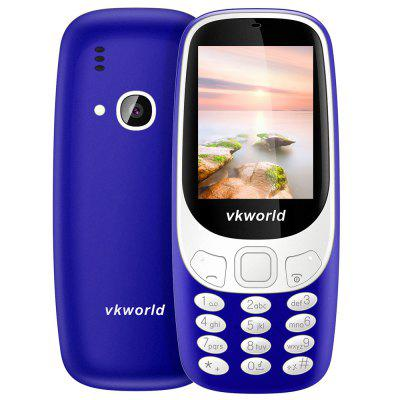Buy BLUE Vkworld Z3310 Quad Band Unlocked Phone for $14.99 in GearBest store