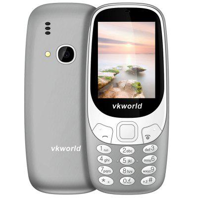 Buy GRAY Vkworld Z3310 Quad Band Unlocked Phone for $14.99 in GearBest store