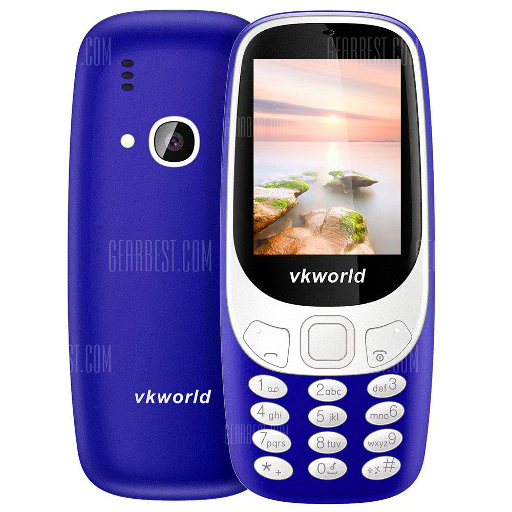 BLUE Vkworld Z3310 Quad Band Unlocked Phone