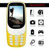 Vkworld Z3310 Quad Band Unlocked Phone - YELLOW