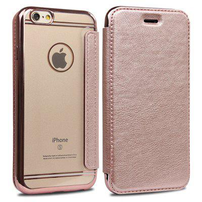 Transparent TPU PU Leather Cover
