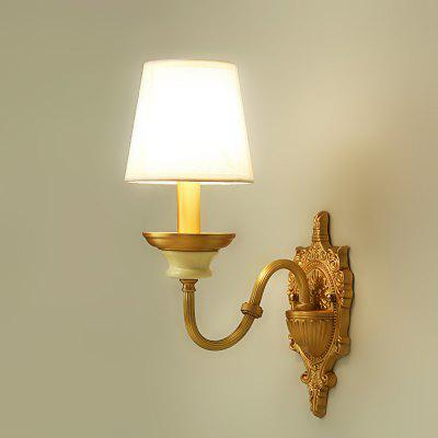 Buy COPPER COLOR ZUOGE DJB1019 1 Branch E14 Base Wall Light for Decor for $83.26 in GearBest store