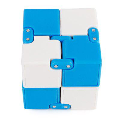 Two-color Splicing Infinite Magic Square Portable Intelligent ToyNovelty Toys<br>Two-color Splicing Infinite Magic Square Portable Intelligent Toy<br><br>Features: Creative Toy, Educational<br>Materials: Plastic<br>Package Contents: 1 x Magic Cube<br>Package size: 14.00 x 7.00 x 2.50 cm / 5.51 x 2.76 x 0.98 inches<br>Package weight: 0.0800 kg<br>Product size: 4.00 x 4.00 x 4.00 cm / 1.57 x 1.57 x 1.57 inches<br>Product weight: 0.0600 kg<br>Series: Entertainment<br>Theme: Other