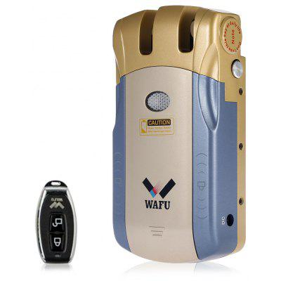 WAFU HF - 010 Smart Electric Remote Control Warded Door Lock Security Padlock for Home