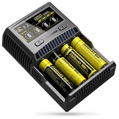 Nitecore SC4 Battery Charger EU Plug