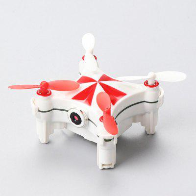 CHEERSON CX - OF Micro RC Pocket Selfie DroneRC Quadcopters<br>CHEERSON CX - OF Micro RC Pocket Selfie Drone<br><br>Battery: 3.7V 120mAh lithium-ion<br>Brand: Cheerson<br>Built-in Gyro: 6 Axis Gyro<br>Camera Pixels: JPG ), 0.3MP ( 640 x 480<br>Channel: 4-Channels<br>Charging Time.: about 45mins<br>Compatible with Additional Gimbal: No<br>Control Distance: 0-50m<br>Detailed Control Distance: 20~25m<br>Features: Brushed Version, WiFi FPV, WiFi APP Control, Radio Control, Camera<br>Flying Time: about 5mins<br>FPV Distance: 20m<br>Functions: WiFi Connection, With light, Sideward flight, Waypoints, Up/down, 180 Degree CW / CCW Rotation Loop, 3D rollover, Air Press Altitude Hold, Forward/backward, Gravity Sense Control, Left / Right Hand Throttle Switch, Turn left/right, One Key Landing, One Key Taking Off<br>Kit Types: RTF<br>Level: Beginner Level<br>Model: CX - OF<br>Model Power: Built-in rechargeable battery<br>Motor Type: Brushed Motor<br>Package Contents: 1 x Drone ( Battery Included ), 1 x Transmitter ( Battery Included ), 2 x USB Charging Cable, 1 x Wrench, 4 x Spare Propeller, 1 x English Manual<br>Package size (L x W x H): 17.40 x 15.20 x 3.90 cm / 6.85 x 5.98 x 1.54 inches<br>Package weight: 0.3000 kg<br>Product size (L x W x H): 6.80 x 6.80 x 3.30 cm / 2.68 x 2.68 x 1.3 inches<br>Product weight: 0.2400 kg<br>Radio Mode: Mode 1 &amp; Mode 2 ?Left &amp; Right-hand Throttle?,WiFi APP<br>Remote Control: 2.4GHz Wireless Remote Control<br>Sensor: Barometer,Optical Flow<br>Size: Micro<br>Transmitter Power: Built-in rechargeable battery<br>Type: Indoor, Quadcopter<br>Video Resolution: 640 x 480 30fps ( MP4 )