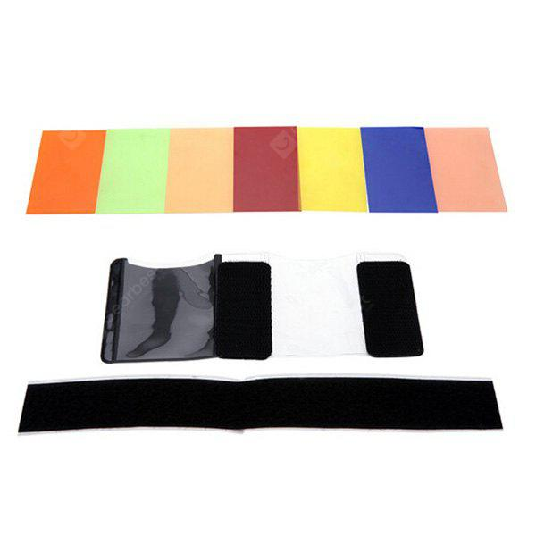 Kit de Filtro Quadrado Universal Flash de 7 Cores