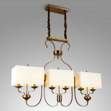 ZUOGE Creative Retro Rectangular Chandelier