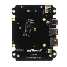 SupTronics X820 2.5 inch SATA HDD / SSD Expansion Board