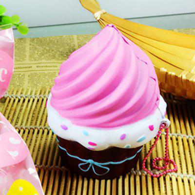 NEXTERIC Realistic Cupcake PU Squishy Toy Simulation Food