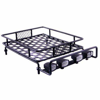 Roof Luggage Rack with Light Bar