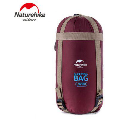 Buy WINE RED NatureHike Camping Gadgets 190x75cm 320D Nylon Sleeping Bag Sack for $26.76 in GearBest store