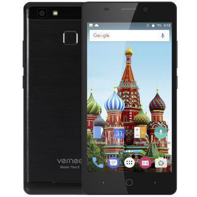 Vernee Thor E 4G SmartphoneCell phones<br>Vernee Thor E 4G Smartphone<br><br>2G: GSM 850/900/1800/1900MHz<br>3G: WCDMA 900/2100MHz<br>4G: FDD-LTE 800/1800/2100/2600MHz<br>Additional Features: Calendar, Calculator, Browser, Bluetooth, Alarm, 4G, 3G, Camera, Sound Recorder, Wi-Fi, People, MP4, MP3, GPS, Fingerprint Unlocking, Fingerprint recognition<br>Auto Focus: Yes<br>Back-camera: 8.0MP ( SW 13.0MP ) with flash light and AF<br>Battery Capacity (mAh): 5020mAh (typ)<br>Battery Type: Li-ion Battery, Non-removable<br>Bluetooth Version: V4.0<br>Brand: Vernee<br>Camera type: Dual cameras (one front one back)<br>Cell Phone: 1<br>Cores: 1.3GHz, Octa Core<br>CPU: MTK6753 64bit<br>E-book format: TXT<br>English Manual: 1<br>External Memory: TF card up to 128GB (not included)<br>Flashlight: Yes<br>Front camera: 2.0MP ( SW 5.0MP )<br>Games: Android APK<br>GPU: Mali-T720<br>I/O Interface: 2 x Nano SIM Slot, TF/Micro SD Card Slot, Speaker, Micro USB Slot, Micophone, 3.5mm Audio Out Port<br>Language: Multi language<br>Music format: FLAC, MP3, AAC, WAV<br>Network type: GSM+WCDMA+FDD-LTE<br>OS: Android 7.0<br>Package size: 16.50 x 9.50 x 5.00 cm / 6.5 x 3.74 x 1.97 inches<br>Package weight: 0.3870 kg<br>Power Adapter: 1<br>Product size: 14.40 x 7.10 x 0.89 cm / 5.67 x 2.8 x 0.35 inches<br>Product weight: 0.1670 kg<br>RAM: 3GB RAM<br>ROM: 16GB<br>Screen resolution: 1280 x 720 (HD 720)<br>Screen size: 5.0 inch<br>Screen type: Capacitive<br>Sensor: Ambient Light Sensor,E-Compass,Gravity Sensor,Hall Sensor,Proximity Sensor<br>Service Provider: Unlocked<br>SIM Card Slot: Dual Standby, Dual SIM<br>SIM Card Type: Nano SIM Card<br>SIM Needle: 1<br>Touch Focus: Yes<br>Type: 4G Smartphone<br>USB Cable: 1<br>Video format: MPEG4, 3GP, H.264<br>Wireless Connectivity: 4G, 3G, Bluetooth, GSM, Dual Band WiFi, WiFi, A-GPS