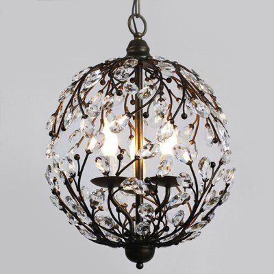 ZGPAX DJB1007 3 Branches E27 Base Pendant Light