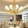 ZUOGE DJB1015 8 Branches E14 Base Pendant Light for Decor - COPPER COLOR