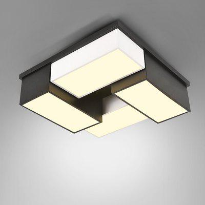 220V Stylish Modern Simple Square LED Ceiling Lamp