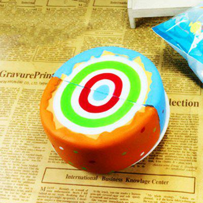 NEXTERIC Realistic Sesame Rainbow Cake PU Squishy Toy Simulation FoodSquishy toys<br>NEXTERIC Realistic Sesame Rainbow Cake PU Squishy Toy Simulation Food<br><br>Brand: NEXTERIC<br>Materials: PU<br>Package Content: 1 x Squishy Toy<br>Package Dimension: 12.00 x 12.00 x 5.00 cm / 4.72 x 4.72 x 1.97 inches<br>Package Weights: 0.0660 kg<br>Pattern Type: Cake<br>Product Dimension: 11.00 x 6.00 x 4.00 cm / 4.33 x 2.36 x 1.57 inches<br>Product Weights: 0.0600 kg<br>Products Type: Squishy Toy