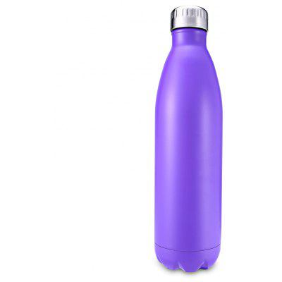 750mL Cola-shaped Vacuum Stainless Steel Water Bottle