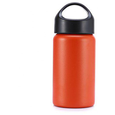 350mL Wide Opening Vacuum Stainless Steel Water Bottle