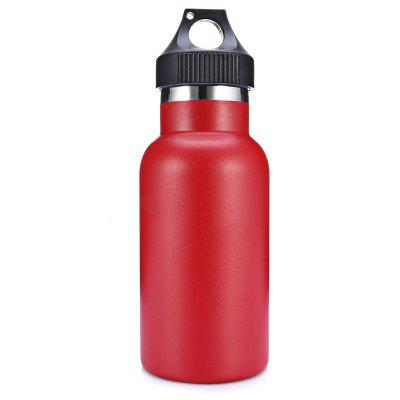 350mL Portable Handle Vacuum Stainless Steel Water Bottle