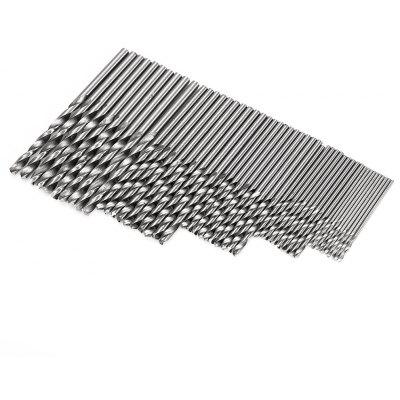 HakkaDeal 50PCS High-speed Steel Drill Woodworking Tool