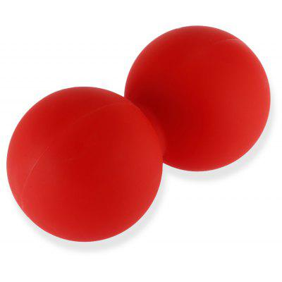 Exercise Muscle Release Peanut Shape Silicone Massage Ball