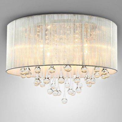 European Style LED Crystal E14 Base Ceiling Light