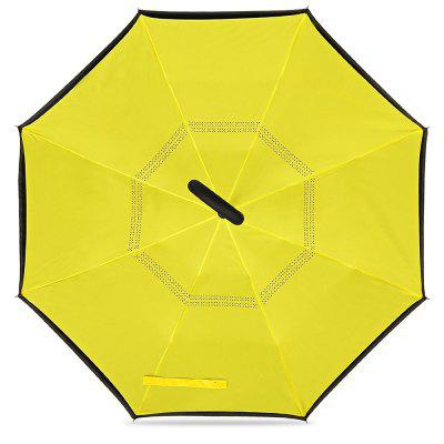 Windproof Reverse Inverted Umbrella for CarUmbrellas<br>Windproof Reverse Inverted Umbrella for Car<br><br>Package Contents: 1 x Umbrella<br>Package Size(L x W x H): 84.00 x 8.00 x 8.00 cm / 33.07 x 3.15 x 3.15 inches<br>Package weight: 0.5600 kg<br>Product size (L x W x H): 80.00 x 7.00 x 7.00 cm / 31.5 x 2.76 x 2.76 inches<br>Product weight: 0.4800 kg