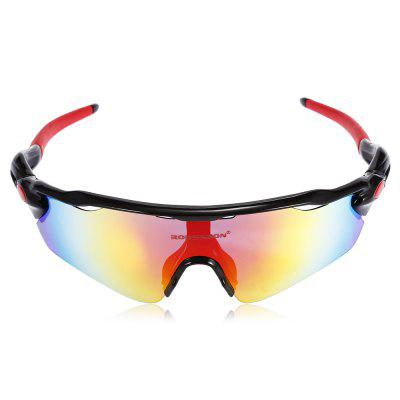 Robesbon 5 Replacement Lenses Polarized TAC Cycling GlassesCycling Sunglasses<br>Robesbon 5 Replacement Lenses Polarized TAC Cycling Glasses<br><br>Brand: ROBESBON<br>Features: Polarized lens, Removable Legs, Replaceable Lens, UV400, with Myopic Frame<br>Gender: Unisex<br>Package Contents: 1 x Robesbon Cycling Glasses, 4 x Spare PC Lens, 1 x Spare Nose Pad, 1 x Headband, 1 x Lanyard, 1 x Cleaning Cloth, 1 x Myopia Frame, 1 x Storage Bag, 1 x Box, 1 x Polarized Test Card, 1 x English Use<br>Package Size(L x W x H): 20.00 x 13.00 x 8.00 cm / 7.87 x 5.12 x 3.15 inches<br>Package weight: 0.2770 kg<br>Product Size(L x W x H): 16.00 x 17.00 x 5.00 cm / 6.3 x 6.69 x 1.97 inches<br>Product weight: 0.0330 kg<br>Suitable for: Traveling, Cycling, Hiking
