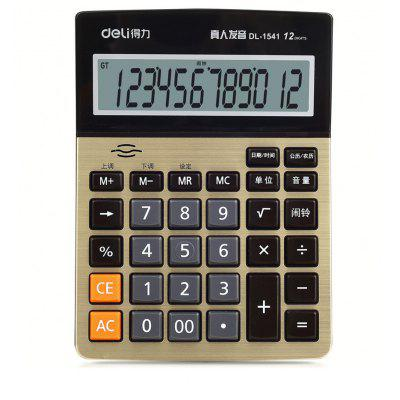 Deli 1542A Talking Calculator