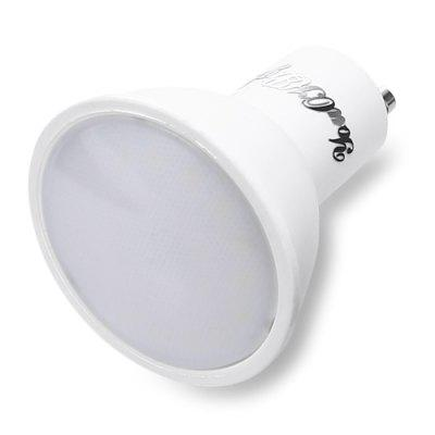 YouOKLight 5W GU10 10 LEDs Spotlight Bulb AC 85 - 265VSpot Bulbs<br>YouOKLight 5W GU10 10 LEDs Spotlight Bulb AC 85 - 265V<br><br>Available Light Color: Warm White<br>Brand: YouOKLight<br>CCT/Wavelength: 3000K<br>Certifications: CE,FCC,RoHs<br>Emitter Types: SMD 5730<br>Features: Low Power Consumption, Long Life Expectancy<br>Function: Horticultural Illumination, Commercial Lighting, Studio and Exhibition Lighting<br>Holder: GU10<br>Luminous Flux: 400Lm<br>Output Power: 5W<br>Package Contents: 1 x YouOKLight 5W GU10 10 LEDs Spot Bulb<br>Package size (L x W x H): 5.00 x 5.00 x 7.00 cm / 1.97 x 1.97 x 2.76 inches<br>Package weight: 0.0800 kg<br>Product weight: 0.0480 kg<br>Sheathing Material: Aluminum, Plastic<br>Total Emitters: 10<br>Type: Spot Bulbs<br>Voltage (V): AC 85-265