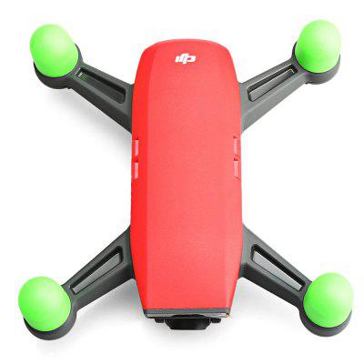 Soft Silicone Protective Motor Cover 4pcs / setRC Quadcopter Parts<br>Soft Silicone Protective Motor Cover 4pcs / set<br><br>Compatible with: DJI Spark mini RC drone<br>Package Contents: 4 x Motor Cover<br>Package size (L x W x H): 10.00 x 10.00 x 11.00 cm / 3.94 x 3.94 x 4.33 inches<br>Package weight: 0.0320 kg<br>Product weight: 0.0072 kg<br>Type: Motor Cover