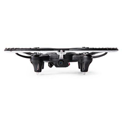 YH - 13HW RC Quadcopter - RTFRC Quadcopters<br>YH - 13HW RC Quadcopter - RTF<br><br>Age: Above 14 years old<br>Battery: 3.7V 380mAh lithium-ion<br>Built-in Gyro: 6 Axis Gyro<br>Camera Pixels: 2MP<br>Channel: 4-Channels<br>Charging Time.: about 60mins<br>Compatible with Additional Gimbal: No<br>Control Distance: 50-100m<br>Detailed Control Distance: 80~100m<br>Flying Time: 5-7mins<br>FPV Distance: 30m<br>Functions: With light, Waypoints, Speed up, Slow down, Sideward flight, 3D rollover, Air Press Altitude Hold, Emergency Landing, Forward/backward, Gravity Sense Control, Headless Mode, One Key Landing, One Key Taking Off, Level Calibration<br>Kit Types: RTF<br>Level: Beginner Level<br>Model: YH - 13HW<br>Model Power: Built-in rechargeable battery<br>Package Contents: 1 x Quadcopter ( Battery Included ), 1 x Transmitter, 2 x Stick End, 1 x USB Cable, 4 x Spare Propeller, 1 x Screwdriver, 1 x English Manual<br>Package size (L x W x H): 17.00 x 17.00 x 12.00 cm / 6.69 x 6.69 x 4.72 inches<br>Package weight: 0.4690 kg<br>Product size (L x W x H): 15.50 x 15.50 x 3.50 cm / 6.1 x 6.1 x 1.38 inches<br>Product weight: 0.0660 kg<br>Radio Mode: Mode 2 (Left-hand Throttle),WiFi APP<br>Remote Control: 2.4GHz Wireless Remote Control<br>Sensor: Barometer<br>Size: Small<br>Transmitter Power: 4 x 1.5V AA battery(not included)<br>Type: Quadcopter, Outdoor, Indoor<br>Video Resolution: 720P HD