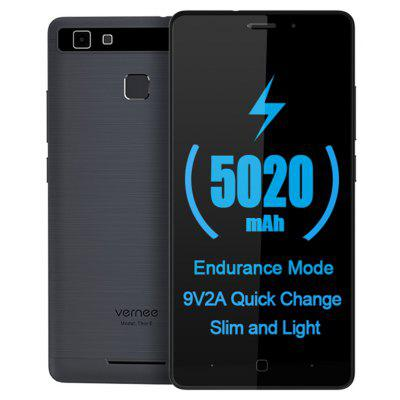 Buy GRAY Vernee Thor E 4G Smartphone for $97.11 in GearBest store