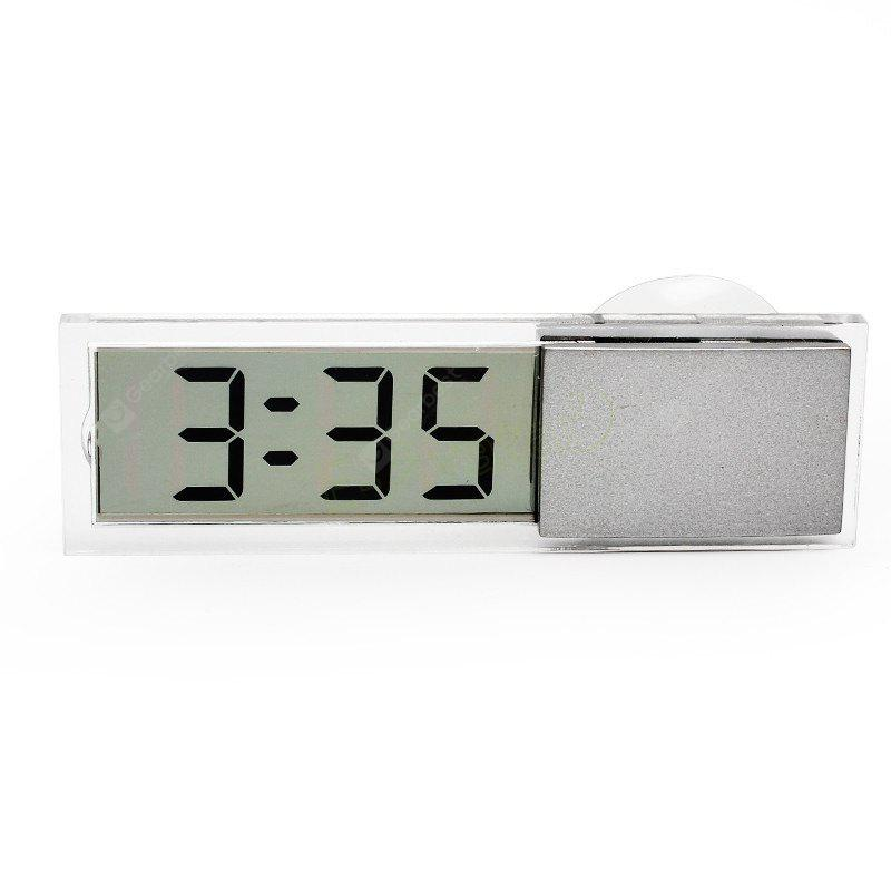 Car LCD Electronic Digital Clock with Suction Cup