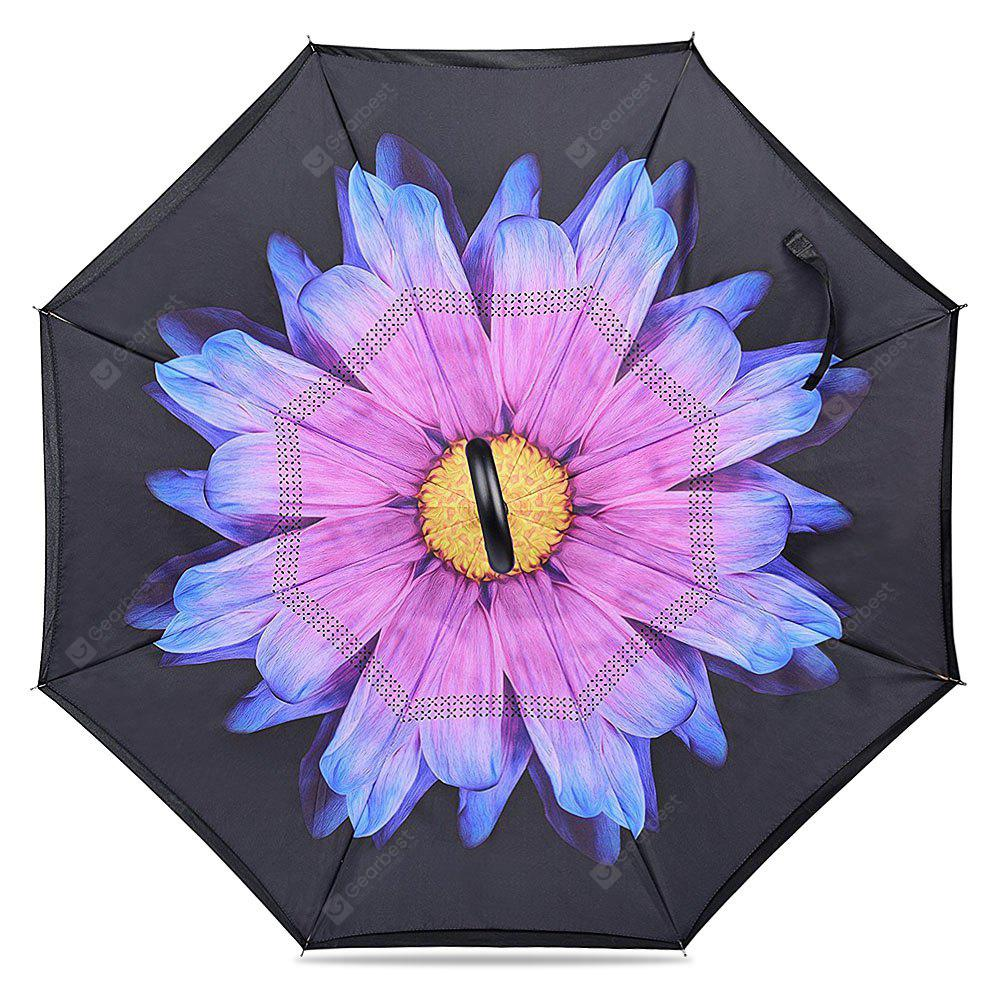DAFFODIL Windproof Inverted Umbrellas for Car