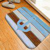 Rudder Flannel Doormat Rug Mat - COLORMIX