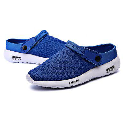 Male Slip On Summer Breathable Mesh Sandals