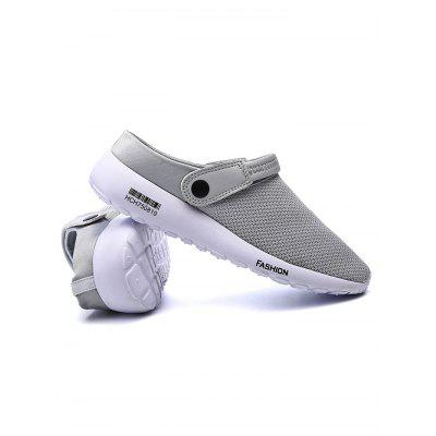 Male Slip On Summer Breathable Mesh SandalsMens Sandals<br>Male Slip On Summer Breathable Mesh Sandals<br><br>Contents: 1 x Garden Clogs<br>Materials: Mesh, Rubber<br>Occasion: Casual, Daily<br>Package Size ( L x W x H ): 31.00 x 18.50 x 12.00 cm / 12.2 x 7.28 x 4.72 inches<br>Package Weights: 0.5800KG<br>Seasons: Autumn,Spring,Summer<br>Style: Leisure, Fashion, Comfortable<br>Type: Sandals