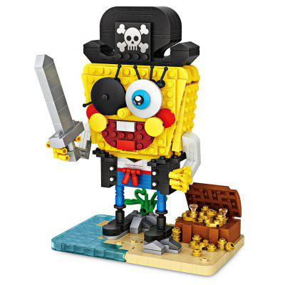 LOZ New Style Pirate Version Mini Particles Building Blocks