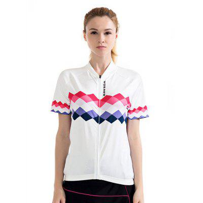 WOSAWE BC258 Short Sleeve Cycling Suits for Women