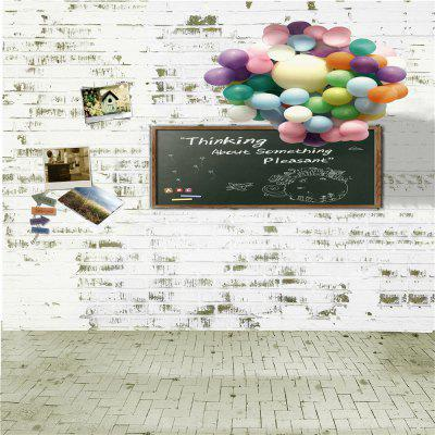Balloon with Blackboard Photography Background Cloth