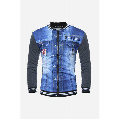 Men Fashion 3D Jacket