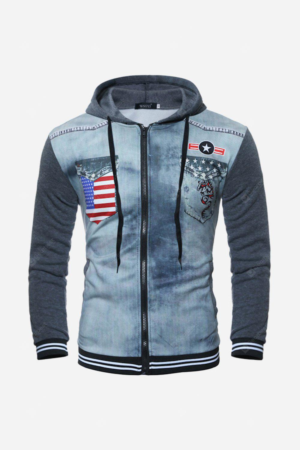 Men Fashion Hooded Sweater