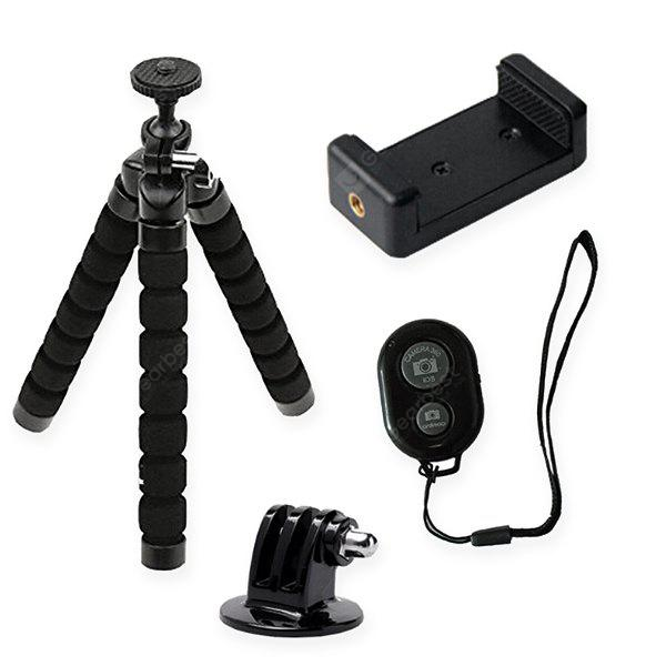 Bluetooth Mini Tripod Holder for GoPro / Cellphone