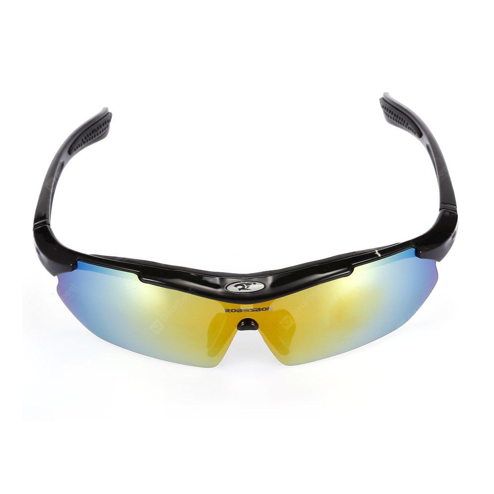Robesbon 5 Replacement Lenses Polarized Cycling Glasses